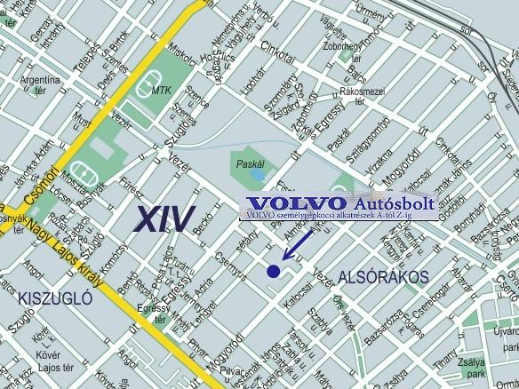 zugló térkép Volvo autósbolt_Kapcsolat zugló térkép